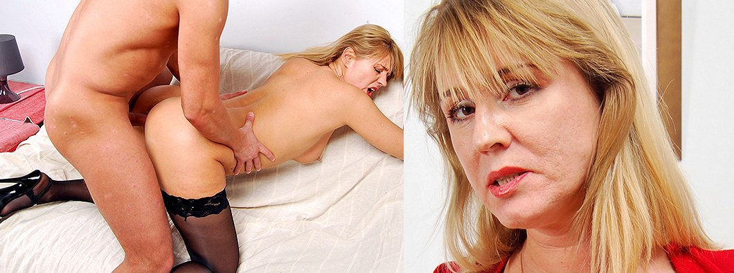 Hot russian mom fucked doggie style