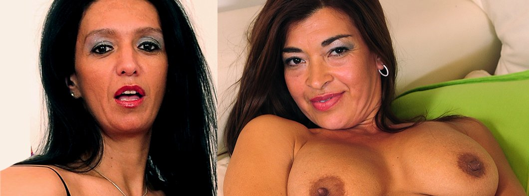 Two hot milf latino milfs